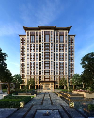 新中式住宅区