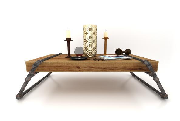 现代风格装饰桌