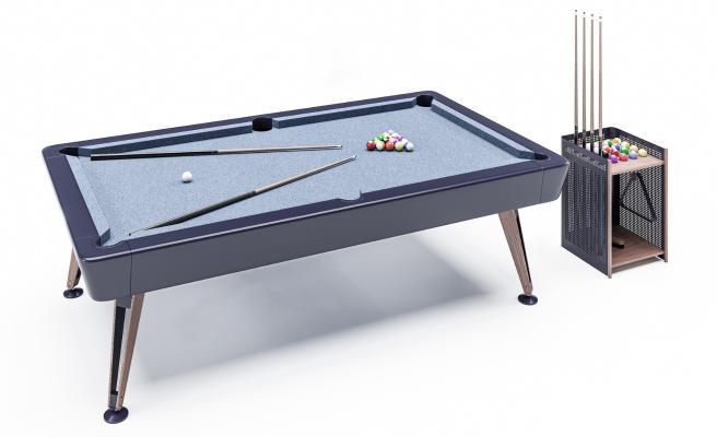 现代台球桌 台球 桌球杆