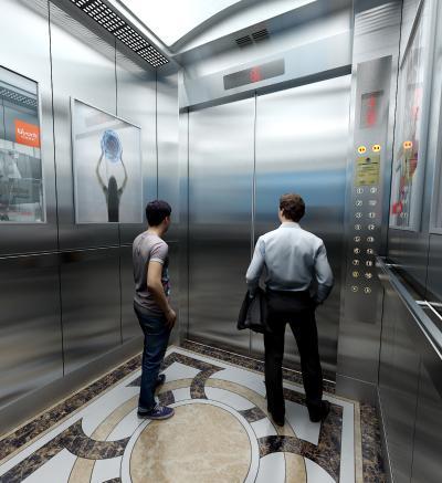 现代电梯轿厢 按钮