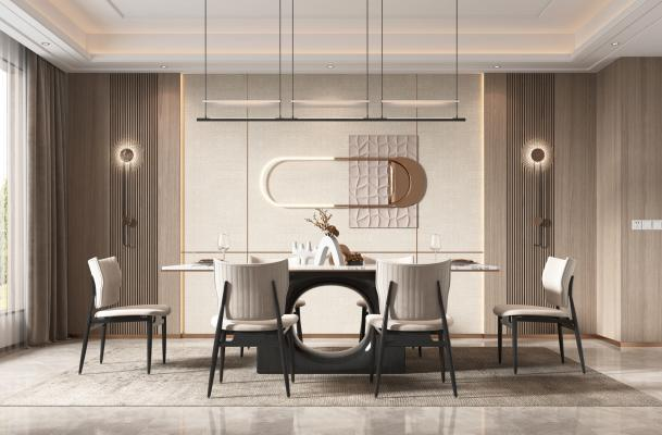 现代家居餐厅
