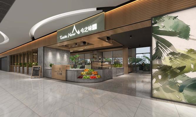 东南亚风格餐厅门头