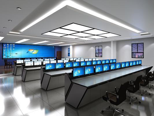 现代监控指挥中心