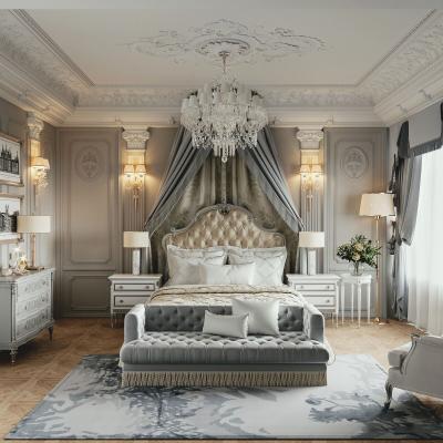 法式輕奢臥室