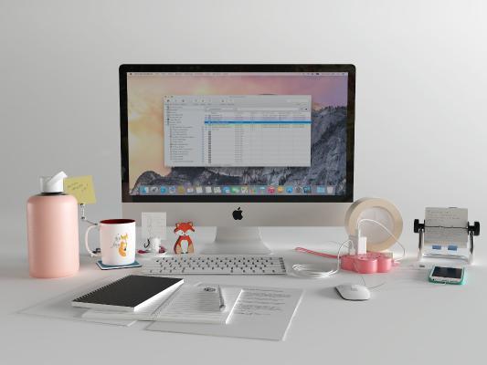 现代电脑 键盘 插座