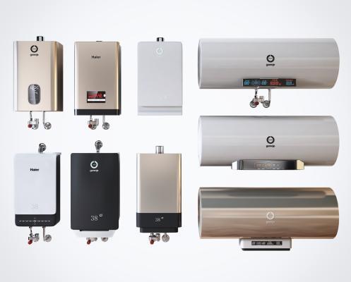 现代高档电热水器卫浴设备组合