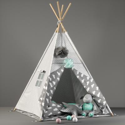 现代儿童帐篷