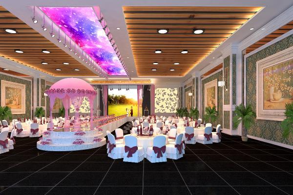 新古典欧式婚宴大厅
