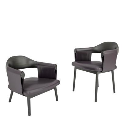 現代單椅休閑椅