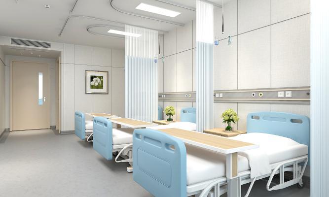 现代风格医院 病房