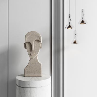 现代抽象雕塑 吊灯