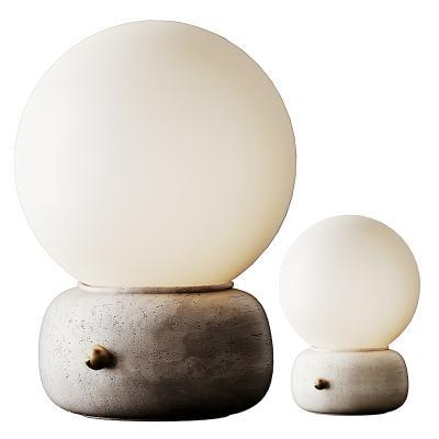 现代球形台灯