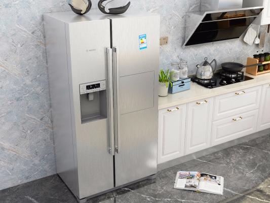 現代雙門冰箱