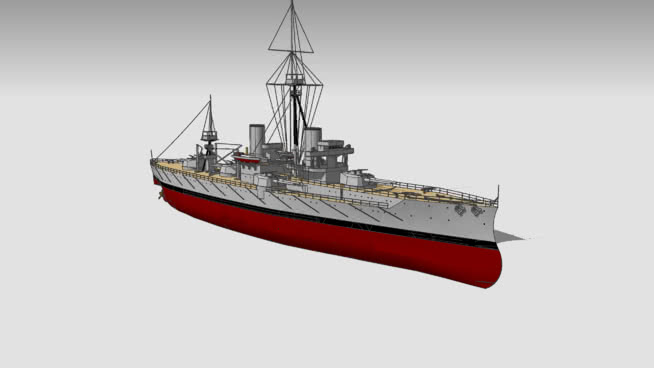HMS DrEADNOUGHT 1906 船 集装箱船 消防船 潜艇 邮船