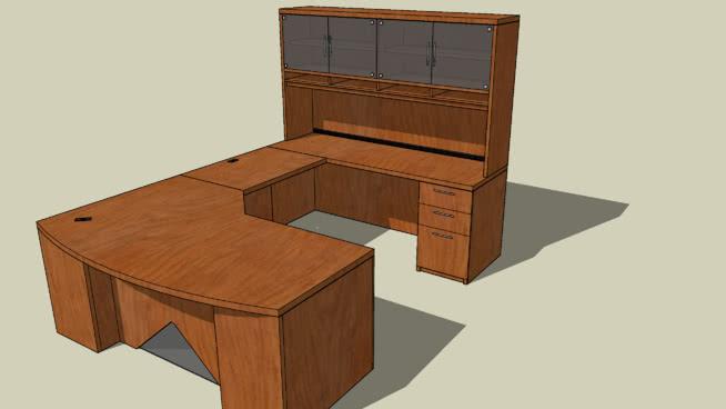 办公台v.2.0褶皱 书桌 桌子 家具 柜子 写字台