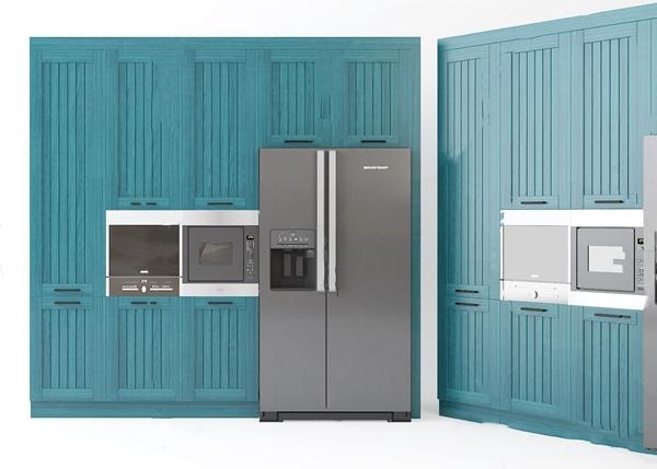 地中海厨柜3d模型
