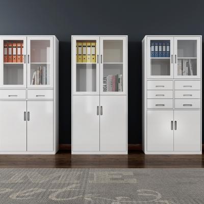 现代办公文件柜组合3D模型