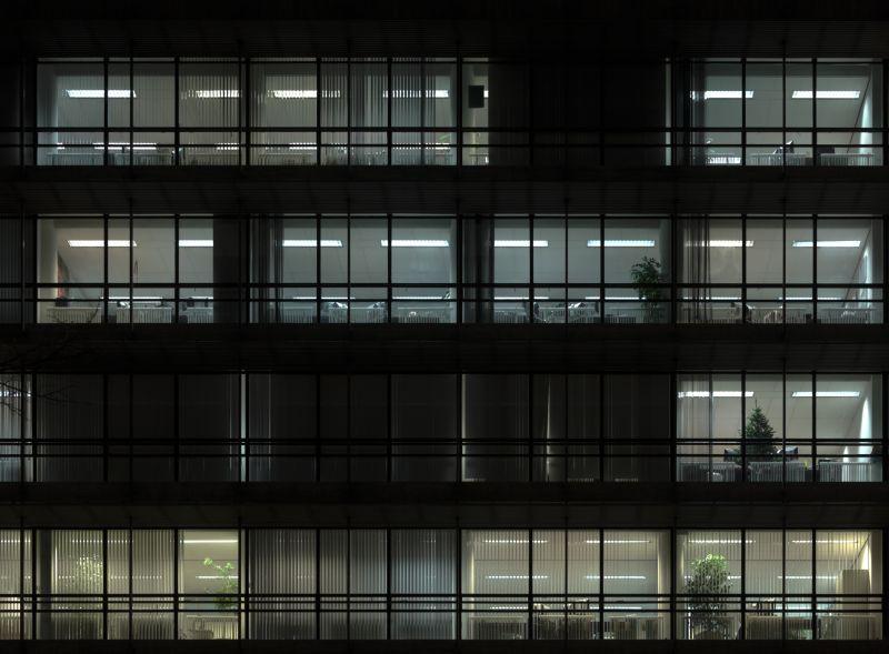 外景-夜晚窗户 12