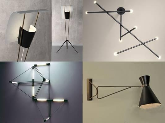 现代壁灯3D模型