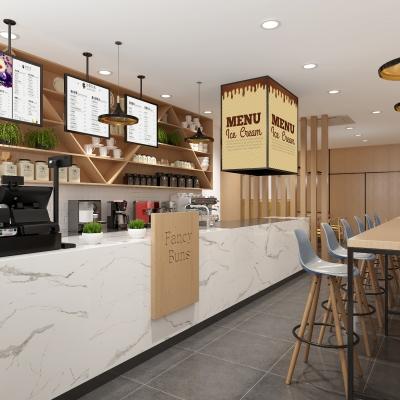 北欧咖啡店3D模型