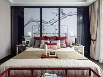 75套現代中式輕奢風格別墅室內裝飾設計作品合集(無CAD)