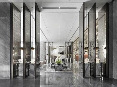 【矩陣縱橫】海口華潤中心城銷售中心+辦公區丨施工圖+機電圖+官方攝影丨1G